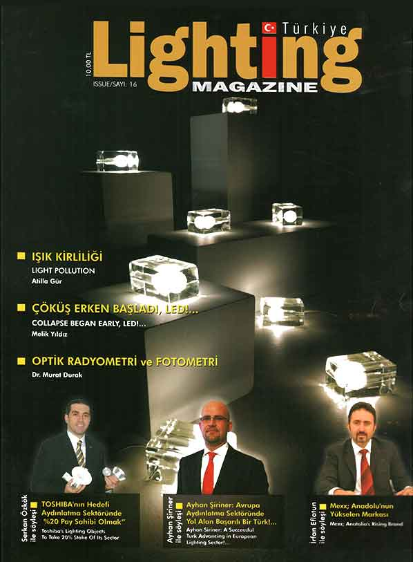LİGHTİNG MAGAZINE (YIL-SAYI-16)DERGİSİ